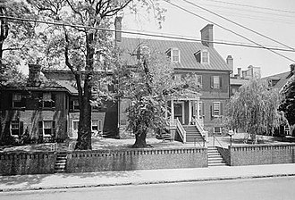 Paca House and Garden - Image: William Paca House, 186 Prince George Street, Annapolis (Anne Arundel County, Maryland)
