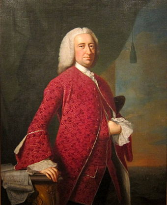 William Shirley was unseated as Massachusetts governor in part by Pownall's actions. William Shirley.JPG