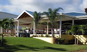 Windsor University School of Medicine - A building on the Windsor University Saint Kitts campus