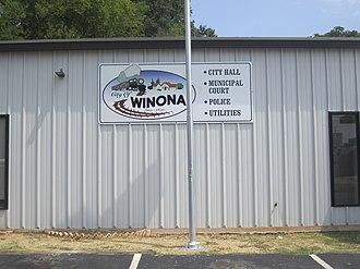 Winona, Texas - Winona City Hall