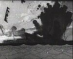 Winsor McCay - The Sinking of the Lusitania still - Lusitania torpedoed.jpg