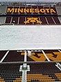 Winter at TCF Bank Stadium - Minnesota logo on stands.jpg