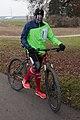Winter clothing bicycle rider germany 2016 12 16.jpg