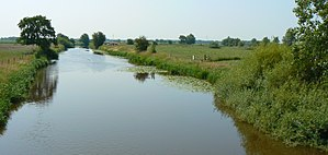 Harle (river) - The Harle near Wittmund