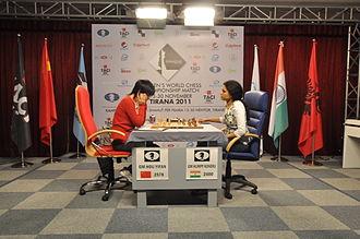 Women's World Chess Championship - Women's World Chess Championship, Tirana 2011