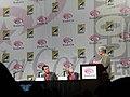 WonderCon 2011 - Hanna panel - director Joe Wright and star Saoirse Ronan (5593927664).jpg