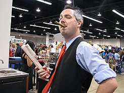 WonderCon 2014 - J. Jonah Jameson cosplay (13931855566).jpg