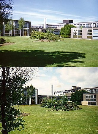 Woodham Academy - Image: Woodham Comprehensive Fire