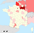 World war one French general eaths location map.png