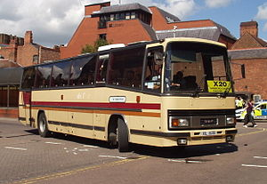 VDL Bus Chassis - Plaxton Paramount bodied DAF MB200