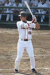 Tomoya Inzen Japanese baseball player