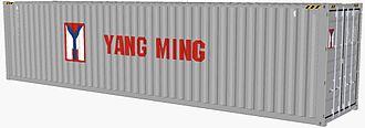 Yang Ming Marine Transport Corporation - Image: Yang Ming container