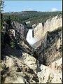 Yellowstone N.P., Lower Falls, Grand Canyon of Yellowstone 9-2011 (6911245141).jpg