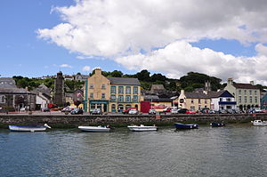 Youghal - Youghal from the harbour