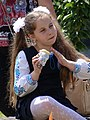 Young Girl in Park - Kolomiya - The Carpathians - Ukraine (27012453920) (2).jpg