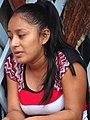 Young Woman on Shop Balcony - Livingston - Izabal - Guatemala (15875485096).jpg