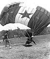 Yugoslavia flag parachute in Butmir airfield.jpg