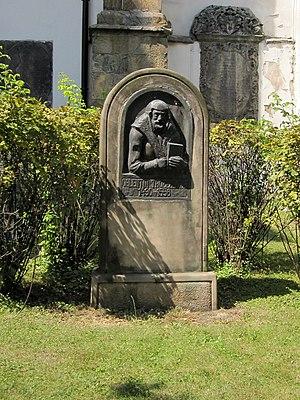 Valentin Friedland - Valentin Trozendorf monument in Złotoryja