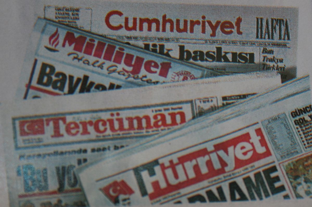 list of newspapers in turkey wikipedia