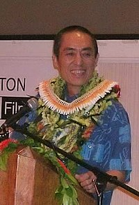 Zhang Yimou vid internationella filmfestivalen i Hawaii, 2005.
