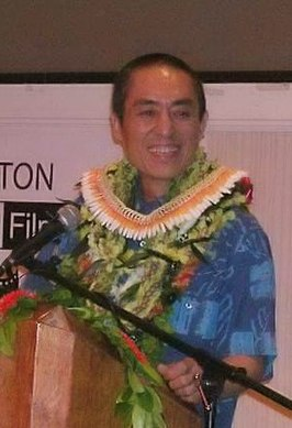 Zhang Yimou tijdens Hawaii International Film Festival (2005).