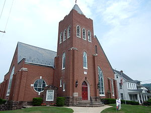 Mohnton, Pennsylvania - Zion Evangelical Church (1894).