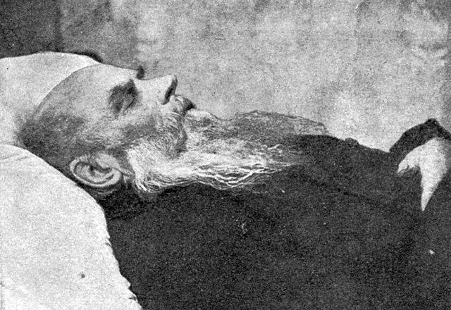 Н.Н.Златовратский на смертном одре
