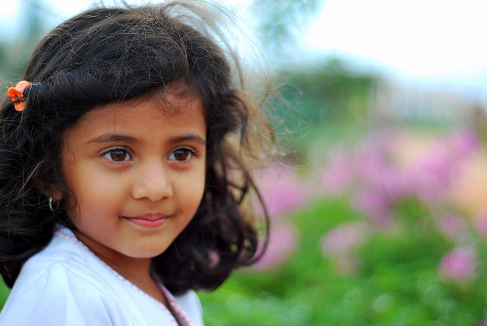 """""""A photo in the park, Indian Girl"""""""