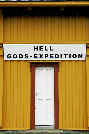 Hell Station - Hell Gods-Expedition. Photo: Karin Beate Nøsterud