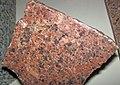 """""""Missouri Red Granite"""" (Graniteville Granite, Mesoproterozoic, 1.317 Ga; St. Francois Mountains, Missouri, USA) (42215371191).jpg"""