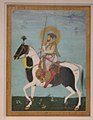 """Shah Jahan on Horseback"", Folio from the Shah Jahan Album MET sf55-121-10-21.jpg"
