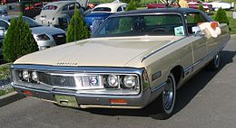 Una Chrysler New Yorker del 1971