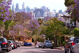 Neutral Bay, New South Wales - View from Bent Street