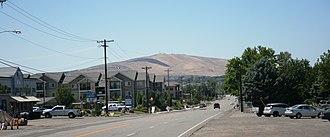 Badger Mountain (Benton County, Washington) - Badger Mountain from the Richland Y.