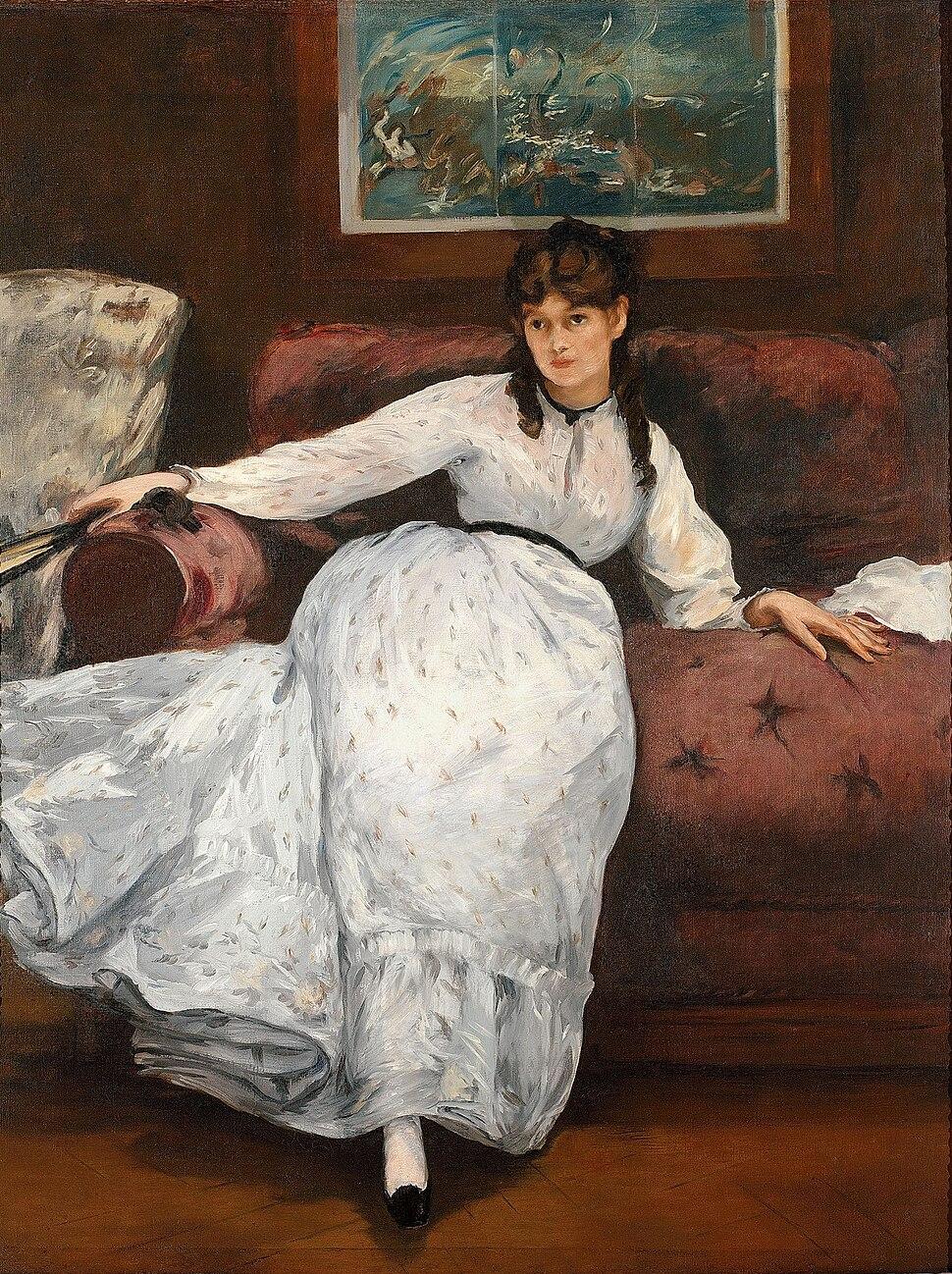Édouard Manet - Le repos