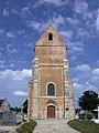 Église Notre-Dame de l'Assomption de Torteval-Quesnay. Vue ouest.jpg