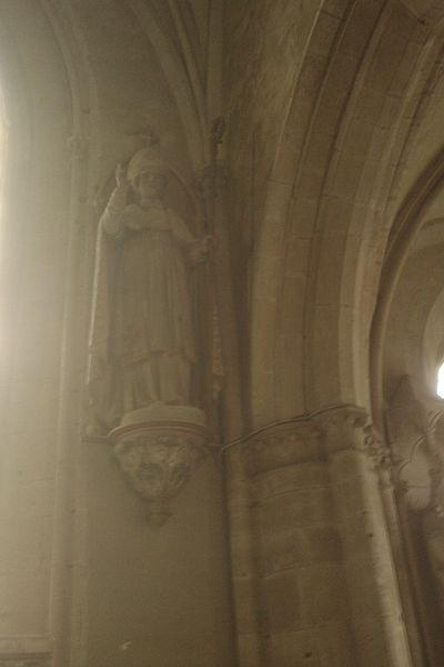 Église Saint-Jacques de fr:Montebourg saint Jacques en plâtre plein (vers 1860)->ce n'est pas la statue classé