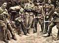 Člani Gestapa ob zajetem kurirju na Gorenjskem.jpg