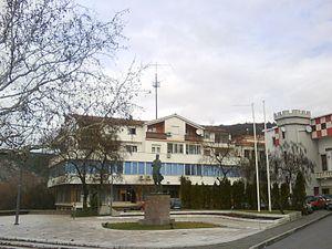 Gojko Šušak - Gojko Šušak Square in Široki Brijeg