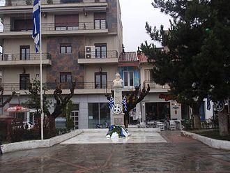 Grevena - View of Emilianou square