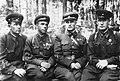 Генерал-майор артиллерии В.И. Казаков с командирами артиллерийских полков.jpg
