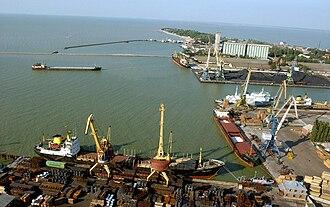 Yeysk - Yeysk port, 2006