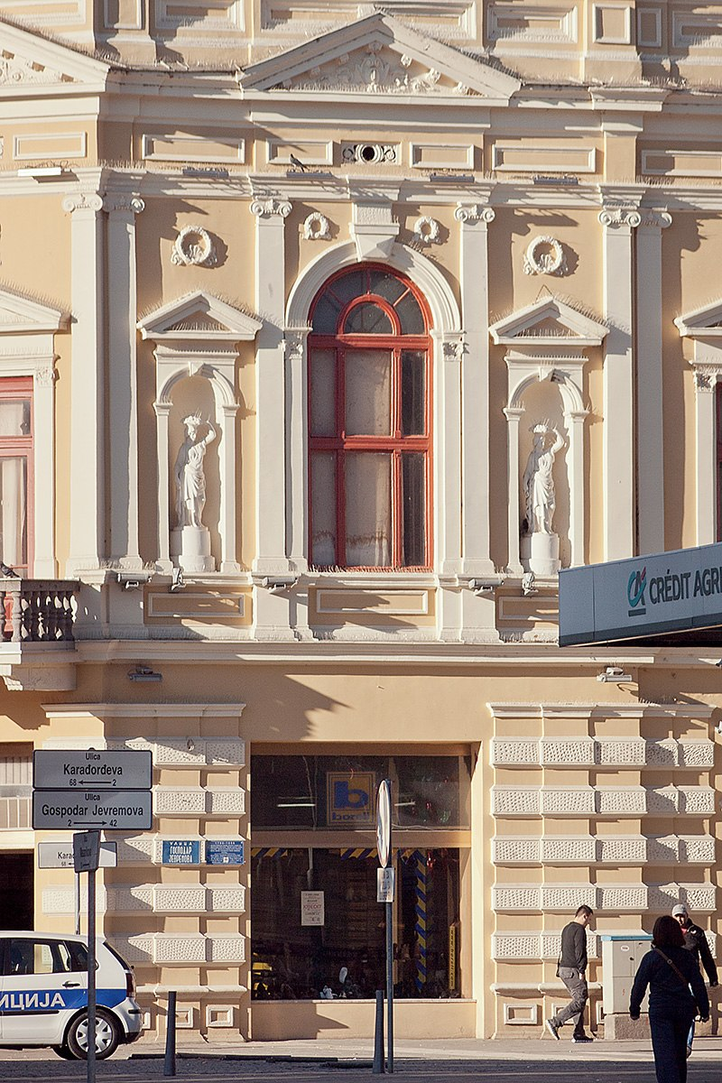 "Зграда ""Борова"" - детаљ"