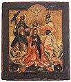 Коронование Богоматери. Россия. XVIII век.jpeg