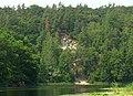Обрыв горы Казачья с реки Северский Донец.jpg