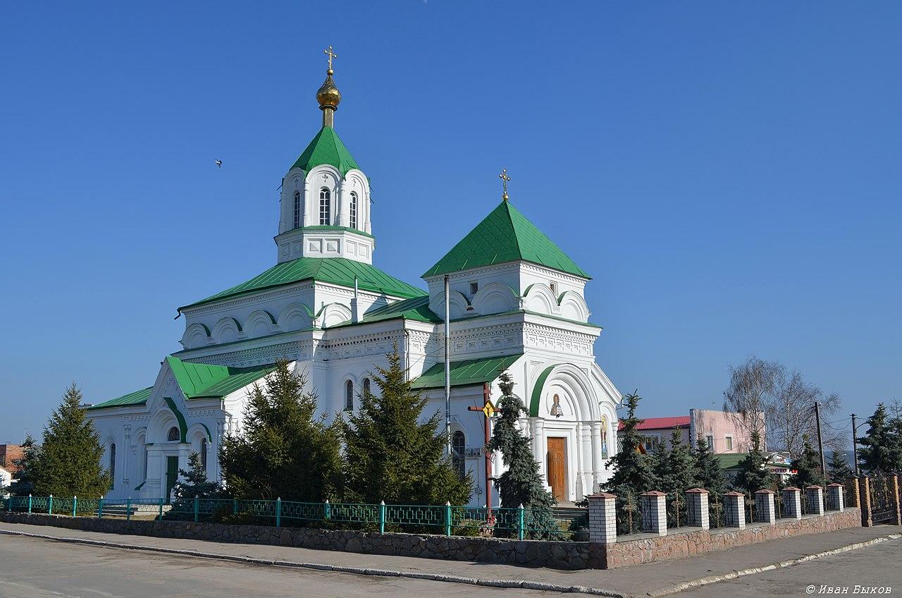 Свято-Николаевский собор. 1864-83 гг.