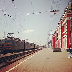 Ruzayevka railway station, July 2013