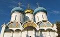 Свято-Троицкая Сергиева лавра Купола собора Архитектурные детали.jpg