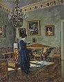 Сергей А. Виноградов - Молодая женщина, чтение.jpg