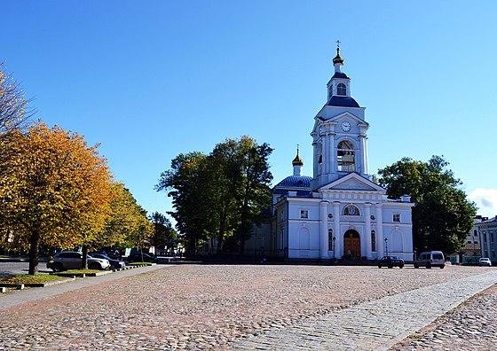 Спасо-Преображенский собор 1793.г.(Выборг) - Соборная площадь (Выборг)